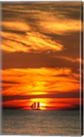 Key West Sunset Vertical II Fine-Art Print