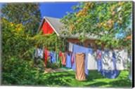 Laundry Line Fine-Art Print