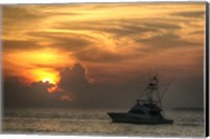 Key West Sport Fisher Sunset Fine-Art Print