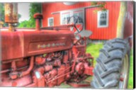 Tractor and Barn Fine-Art Print