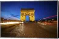 Arc de Triomphe Blue Hour Fine-Art Print