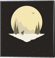 Wintertime Deer Fine-Art Print