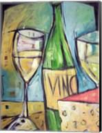 Vin Et Fromage Fine-Art Print