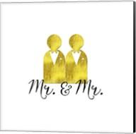 Wedding Couple Mr Mr Fine-Art Print
