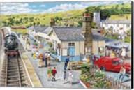 The Village Station Fine-Art Print