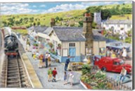 The Village Station Fine-Art Print