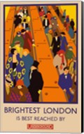 London Underground Brightest London Fine-Art Print