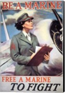 Woman Marines Fine-Art Print