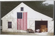 Barn With Piglet Fine-Art Print