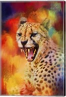 Colorful Expressions Cheetah 2 Fine-Art Print