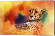 Colorful Expressions Cheetah Fine-Art Print