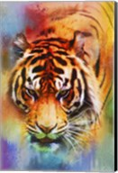 Colorful Expressions Tiger Fine-Art Print