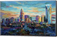 The Queen City Charlotte North Carolina Fine-Art Print