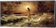 Christ On Water Fine-Art Print
