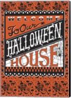 Halloween House Flag Fine-Art Print