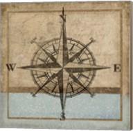 Compass Rose I Fine-Art Print