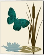 Butterfly and Cat Tails Fine-Art Print