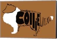 Collie Word 2 Fine-Art Print