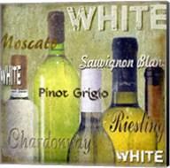 White Wine Bottles Fine-Art Print