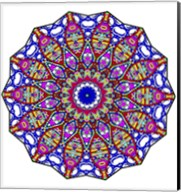 Bubbles Mandala Overflowing Fine-Art Print