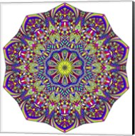 Pretty Pieces Mandala Fine-Art Print