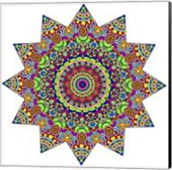 Sparkling Sunny Day Mandala Fine-Art Print
