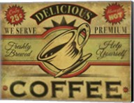 Coffee Sign Fine-Art Print
