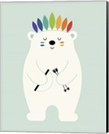 Be Brave Polar Fine-Art Print