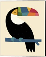 Rainbow Toucan Fine-Art Print