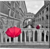 Red Umbrella 1 Fine-Art Print