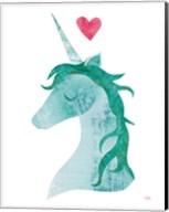 Unicorn Magic II Heart Fine-Art Print