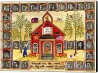 Little Red School House Fine-Art Print