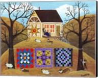 Mama's Corgi Quilt Farm Fine-Art Print