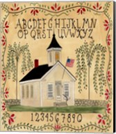American School House Fine-Art Print
