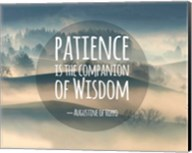Patience Is The Companion Of Wisdom - Foggy Hills Fine-Art Print