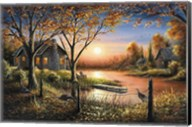 An Autumn Sunset Fine-Art Print