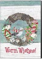 Coastal Christmas Warm Wishes Fine-Art Print