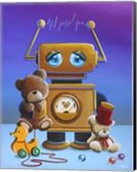 The Toy Robot Fine-Art Print
