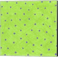 Green Polka Dots Fine-Art Print