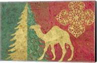 Xmas Tree and Camel Fine-Art Print