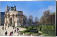 Arc de Triomphe du Carroussel and the Tuileries Garden Fine-Art Print