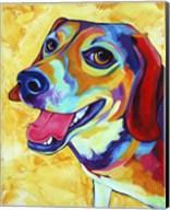Beagle Dog Lucy Lu Fine-Art Print