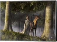 Elf And Buck Fine-Art Print