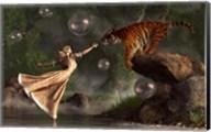 Surreal Tiger Bubble Water Dancer Fine-Art Print