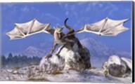 White Dragon Fine-Art Print