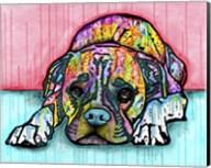 Lying Boxer Fine-Art Print