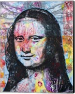 Mona Lisa Pop 2 Fine-Art Print