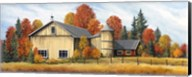 Yellow Barn Fall Fine-Art Print
