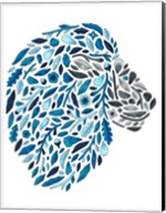 Blooming Animals - Lion Fine-Art Print