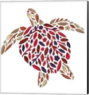 Blooming Animals - Turtle Fine-Art Print